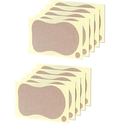 EElabper Herramienta del Cuidado De La Belleza Sweat Pads Bloque Toallitas Anti Axilas Perspirant D Mujeres Verano Axila Desodorantes para La Ropa Camiseta 10pcs