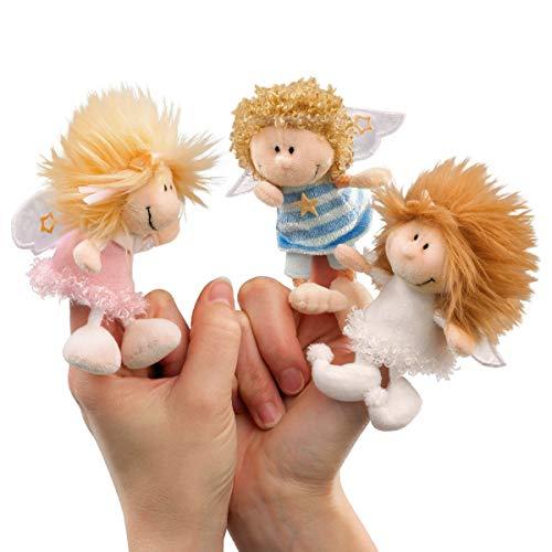 NICI 28395 3 Fingerpuppen Engel