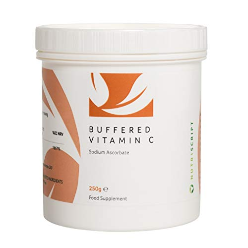 Buffered Vitamin C (Quali-C Sodium Ascorbate) 250g - Nutriscript *New Look*