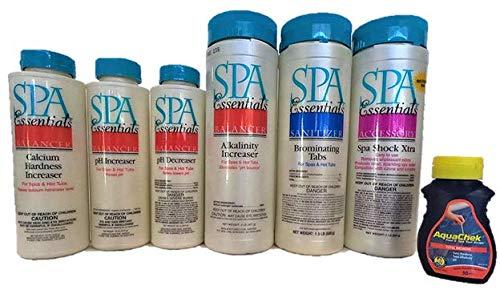 Spa Essentials Spa/Hot Tub Chemical Starter Pack Bundle Kit Package