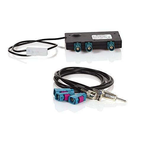 Caratec Connect CC010DAB aktive Weiche mit Verstärker UKW/DAB+, aktiver DAB+ Splitter für Ducato, Boxer, Jumper