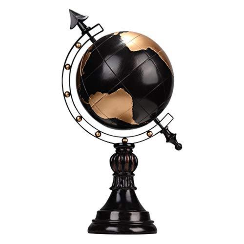 Sculpturen Kunstwerk Hars Decoratie Woonkamer TV Kast Retro Ambachten Wijnkast Globe Decoraties Office Bureau Ambachten Thuis Meubelen Beste Gift