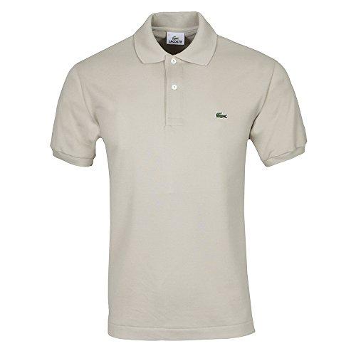 Lacoste L1212-00 - Camiseta deportiva de manga corta para hombre, color raphia, talla Talla inglesa: 9