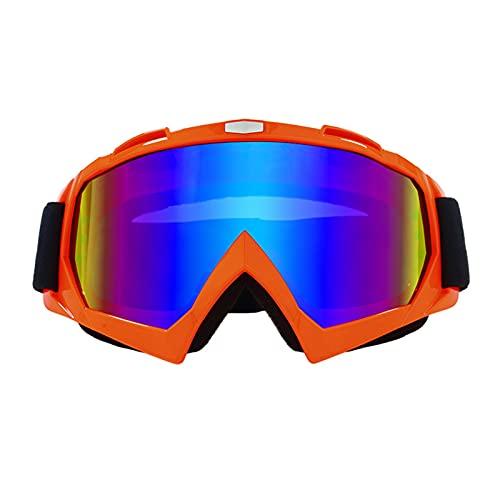 CHQY Gafas de ciclismo fuera de carretera al aire libre, gafas polarizadas de los deportes anti-ultravioletas de los hombres, parabrisas corto A