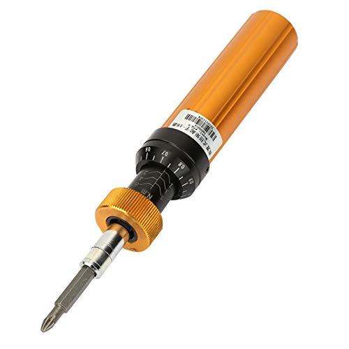 KUIDAMOS Destornillador dinamométrico de Mano Profesional Herramienta de Mantenimiento Manual Destornillador dinamométrico preestablecido Hexagonal Ajustable Adecuado para la Industria de maquinaria