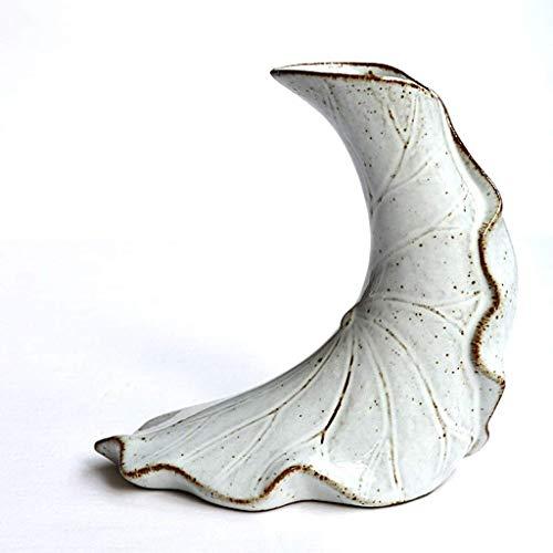LYTBJ Florero de cerámica Retro Hecho a Mano Mesa Japonesa Mesa de Comedor Flor de cerámica Juego de té Decoración Estilo Chino Sala de Estar Mesa de Centro Decoraciones Tarro (Tamaño: A) (Tamaño: A)