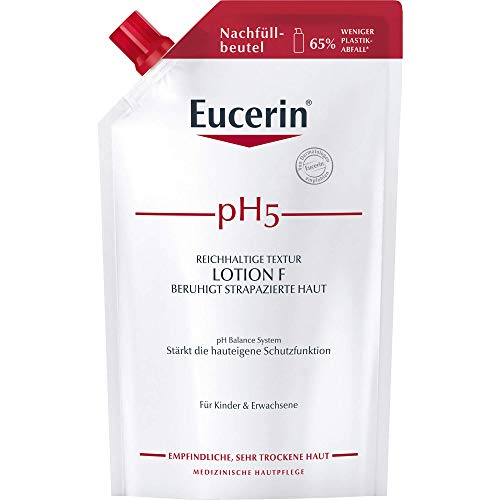Eucerin pH5 Reichhaltige Textur Lotion F Nachfüllbeutel, 400 ml Lotion
