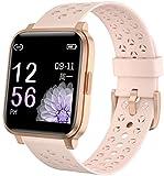 AKY Reloj inteligente 1 3 Color inglés Color IP68 Buceo Deportes...
