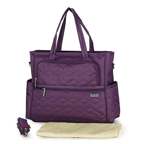 NO BRAND bolsas de pañales para bebés bolsa de pañales bolsa de hombro de madre multifunción bolso de mamá de maternidad de moda bolsa de bebé para cochecito