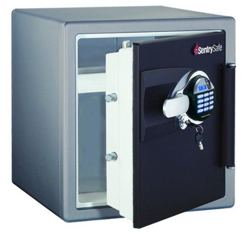 Hot Sale SentrySafe DA3930 1.2-Cubic Feet Fingerprint Electronic/Tubular Key Fire Safe, 138-Pound, Charcoal