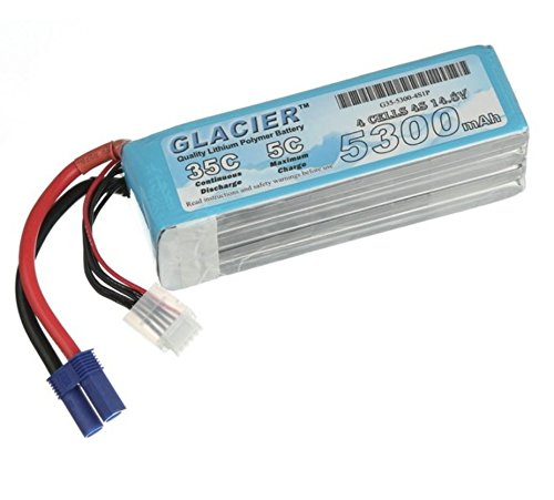Glacier 35C 5300mAh 4S 14.8V LiPo Battery