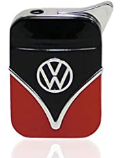 Brisa VW Collection - Volkswagen Furgoneta Hippie Bus T1 Van Encendedor (Negro/Rojo)