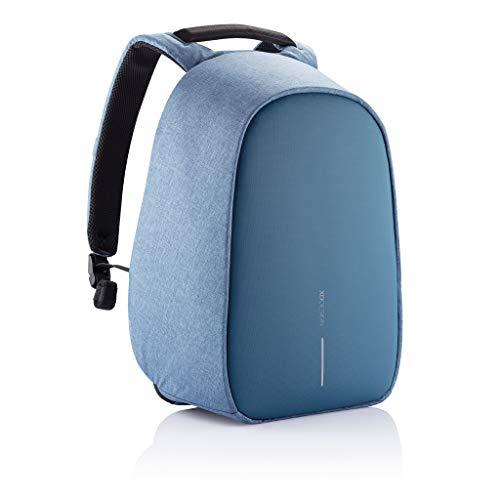 XD Design Bobby Hero Regular Zaino Antifurto USB Azzurro (Borsa Unisex)