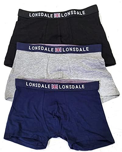 Herren-Boxershorts aus Baumwolle, für Herren, sexy, 3er-Pack oder 6er-Pack XL
