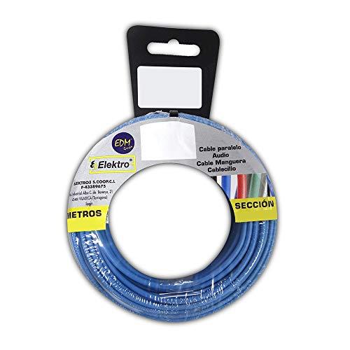 Enrollacables de Instalación eléctrica marca EDM, Azul (Azul) (28505)