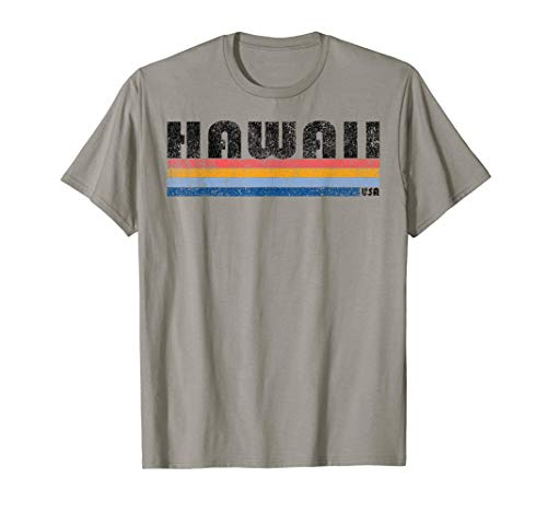 Vintage 1980s Style Hawaii T-Shirt