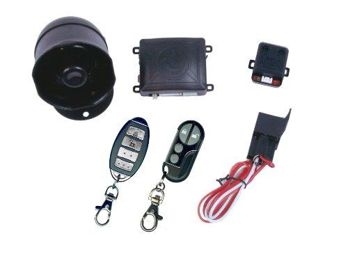 K91-Way Sistema de seguridad de alarma de coche con 16funciones programables
