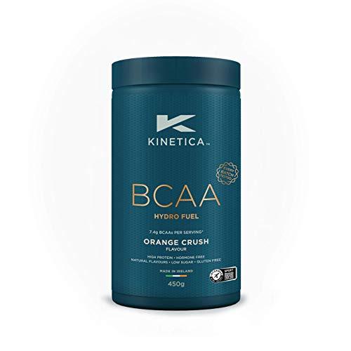 Kinetica BCAA Hydrofuel Powder, Orange Crush, 450g, Blend 4:1:1 (Leucine, Isoleucine, Valine) 7.4g BCAA's