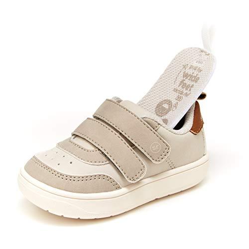 Stride Rite Baby Boys Hayden Sneaker, Light Grey, 6 Infant