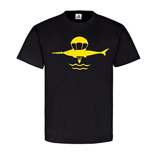 Kampfschwimmer-Bundeswehr Elite Taucher Kompanie Ekernförde Abzeichen Emblem Waffentaucher Minentaucher Marine Unterwasserpistole P11 Militär - T Shirt Herren S #5942