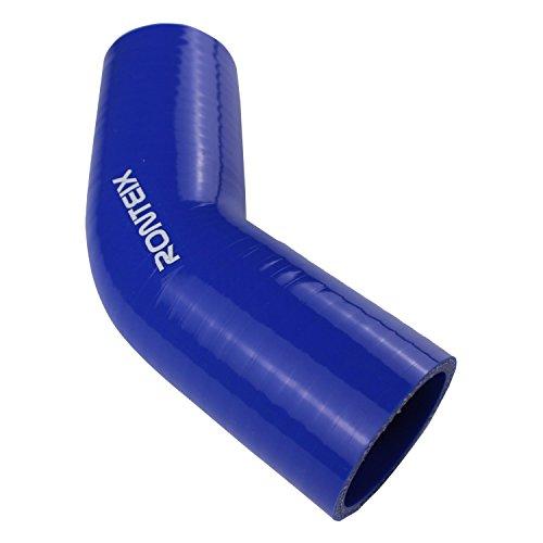 4/capas ronteix acoplador recto silicona manguera reforzada 76/mm de longitud , Negro 76/mm 3/