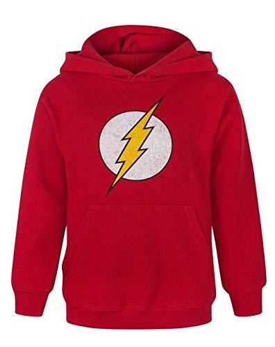 Flash Distressed Logo Boy's Hoodie (9-10 Years)