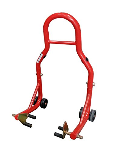 Check Price Front Fork Lift Stand Red Fits Honda Cbr Cbr600 Cbr600rr