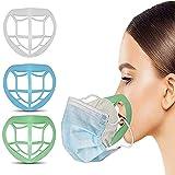 涼しいサポート 口紅の保護 マス'クブラケットインナーサポートフレーム顔面サポートフードプラスチックラックる呼吸スペースを増やす (混合色)