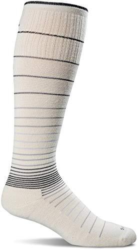 Sockwell Women's Circulator Graduated Compression Socks, Medium/Large(8-11), Natural