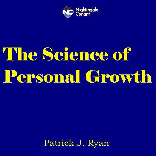 Diseño de la portada del título The Science of Personal Growth