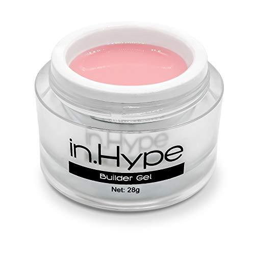 In.Hype Sculpting Camouflage UV Builder Gel - Milky Pink