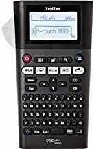 Brother P-touch, PTH300, Portable Label Maker, One-Touch Formatting, Vivid Bright Display, Fast Printing Speeds, Black