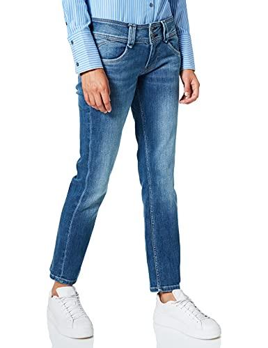 Pepe Jeans Damen Gen Jeans, Denim HH, 30W / 32L