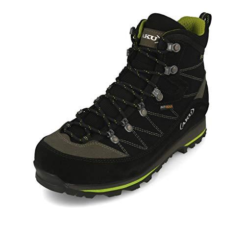 AKU Herren Trekker Lite III GTX Schuhe, Black-Green, UK 7.5