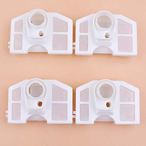 4 unids/lote motosierra china 45cc 52cc 58cc filtro de aire compatible con Zenoah G4500 G5200 G5800 4500 5200 5800 piezas de repuesto de motosierra de gas