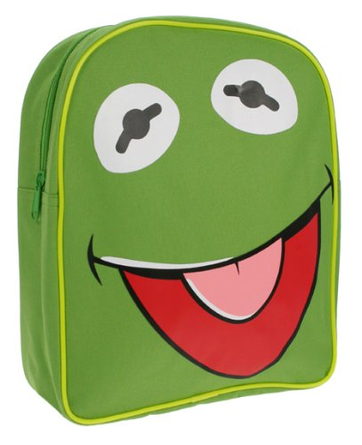 Trademark Collection Muppets Kermit Back Pack. Ideal for kids or adults who refuse to grow up!