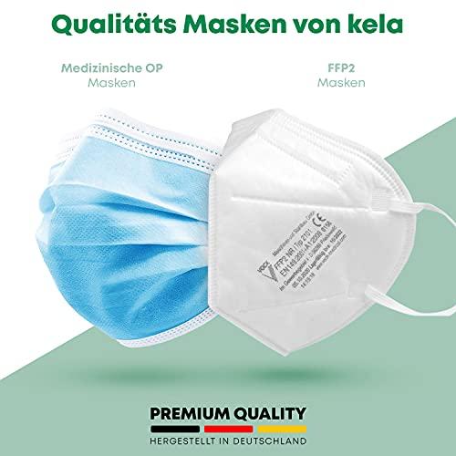 faciemF, 10 Stck. FFP2 Atemschutzmaske | Masken für Mund – und Nasenschutz | DEKRA (0158) geprüft |Made in Germany | sofort ab Lager lieferbar (10) - 7