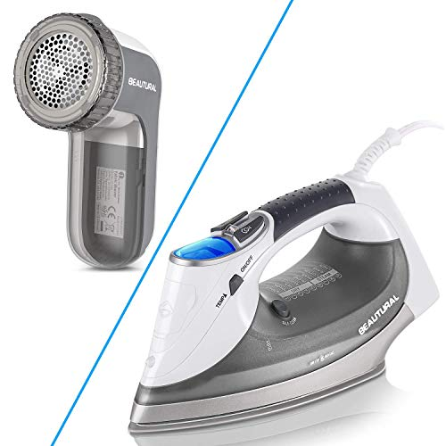 Bundle of BEAUTURAL Fabric Shaver and 1800W Steam ...