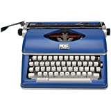 Royal Exclusive 79106B Classic Manual Typewriter (Blue)