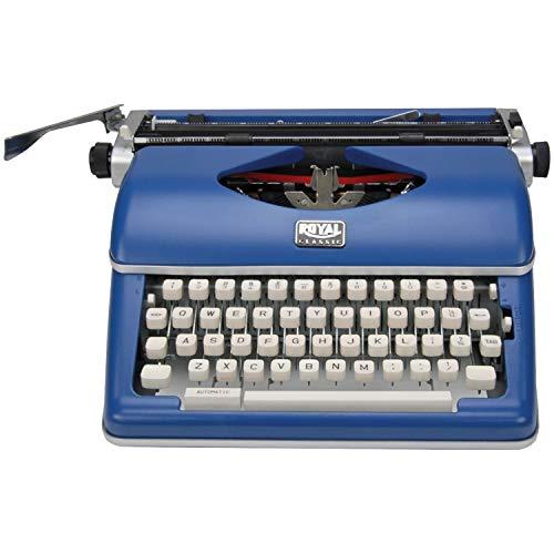 Royal Exclusive 79106B Classic Manual Typewriter (Blue)