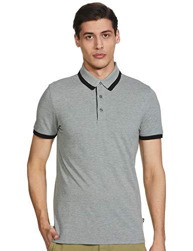 Puma Men's Plain Regular fit T-Shirt (84438002_Gray M)