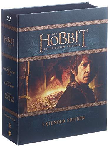 Produktbild von Der Hobbit Trilogie - Extended Edition [Blu-ray]