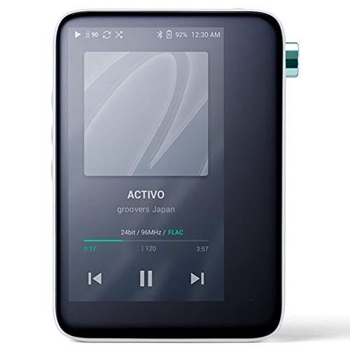 ACTIVO CT10 [Cool White] ハイレゾ対応高音質ポータブルオーディオプレーヤー