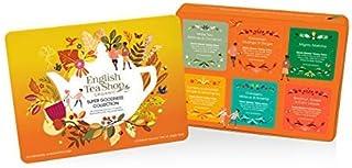 DEU English Tea Shop Auswahl an Bio-Tees und Aufgüssen aus Sri Lanka - 1 x 36 Teebeutel 60 Gramm