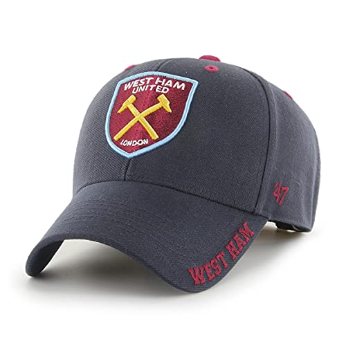 felpa west ham united uomo '47 West Ham United WHUFC - Cappellino da baseball con visiera anti-ruggine