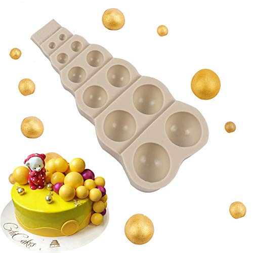 Accessorio per fondente fai da te in 3D con perline in silicone per cioccolato, fondente, decorazione per torte