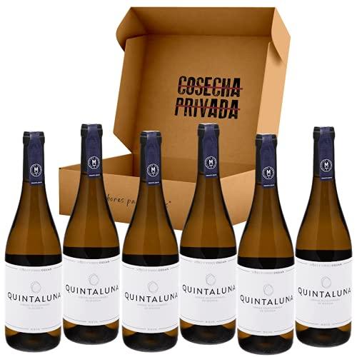 Quintaluna de Ossian - Envío Gratis 24 H - 6 Botellas - Vino Blanco Verdejo - Seleccionado y enviado por Cosecha Privada