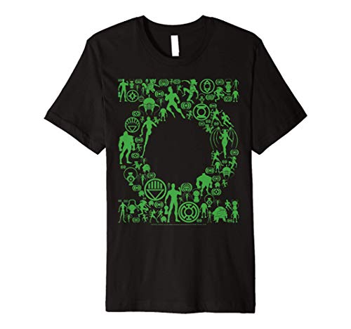 DC Comics Green Lantern Logo Icon Fill Premium T-Shirt