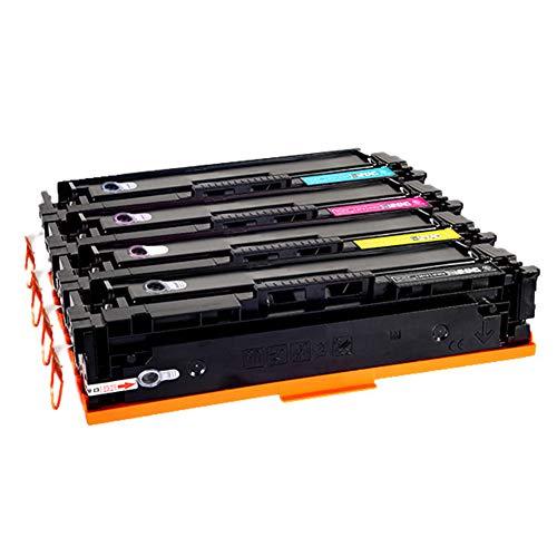 CF400A 401A 402A 403A compatibele vervangende tonercartridge voor HP LasreJet pro M252 277n 277dw serie printer, Het effect is vergelijkbaar met het origineel size Viervleurige combinatie