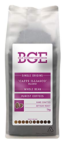 Bulk Gourmet Emporium Single Origin Caffe Illiasco Blend Whole Bean Coffee...